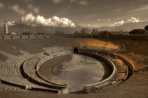 amphitheater Pompei by Skevlar