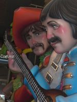 Fallas 2010 - The Beatles by Daruku-maru