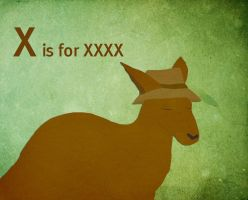 X is for XXXX by whosname