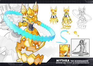 MMZX Ultimus- Mythra the Echidnaroid