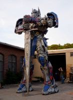 Optimus Ready by caesar120