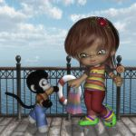 Cute Melly for tiggerspring and Marianne_Designs by mininessie66