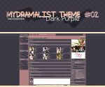 MyDramaList 02 -Dark Purple- by Min-Jung
