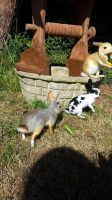 Needle felted rabbits cute bunnies! by thewishingshed