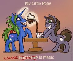 The Magic of Coffee by GingerFoxy