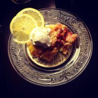 Cherry and Peach cobbler Dump Cake. by triniluv4301