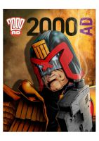 JUDGE DREDD by westleyjsmith