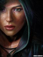 Rise of the Tomb Raider Portrait by OmriKoresh