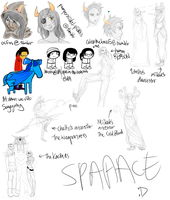 Dump and some WIPs by Rhoda-the-Echidna