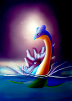 Lapras by LadyTomatoes