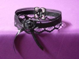 Classic black choker by Estylissimo