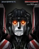 Movie Starscream Head Design by timshinn73