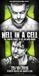 AMBROSE VS BALOR - WWE HELL IN A CELL 2015 by Lucke49