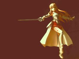 Asuna Figma by thunderdogs