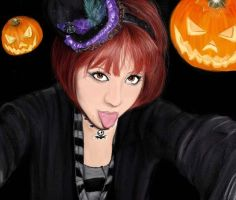 Halloween- Lizy by Black-sania