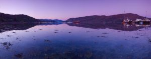 Ullapool Harbour Panorama by da-phil