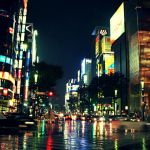 Wet street of Ginza - remix by Bergsjo