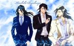 Byakuya love Wallpaper by cica99