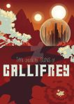 Doctor Who: Gallifrey Travel Poster by Malfey