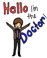 Hello, I'm The Doctor. by malfo-y