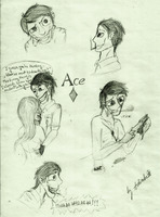 Ace's doodles by Marry-Adinka