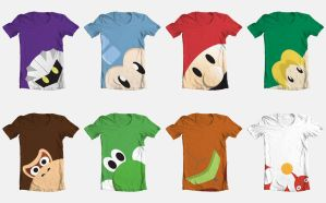 Video Game T Shirts by Videoboysayscube