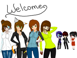 Welcome to our page! by TheUntamedArtist