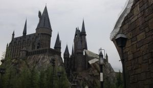 The Hogwarts at Universal Orlando by lupinelover