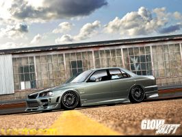 Nissan Skyline R34 by galantaigeri
