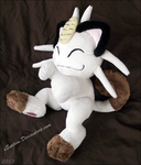 Posed Meowth Plush by xSystem
