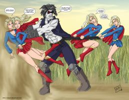 Supergirls - Lobo - commission by mhunt