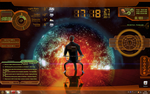Mass Effect 2 Rainmeter Theme by UrulokiBurning