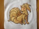 Cross Stitch Ninetales by Cathasach