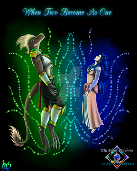 TSDS Lights of Justice: Justin and Miral by Gneiss-chert