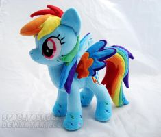 Rainbow Power Dash by PlanetPlush