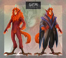 [MYO browbird] LEM - The Magician by hojolabor