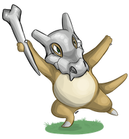 Cubone Request by Eveeoni