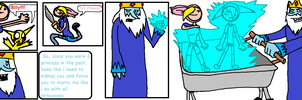 Adventure Time Chloe and Billy Comic page 3 by BillyBCreationz