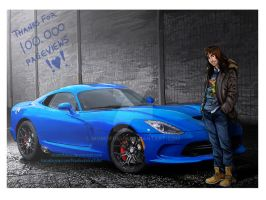 The Hobbit: Dodge Srt Viper by momofukuu