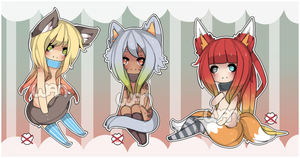 Freehand Auction Adopts [CLOSED] by WanNyan