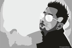 Low Res Vector Art  ~ YO YO Honey Singh~ by megamindmaan