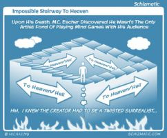 Impossible Stairway To Heaven by schizmatic