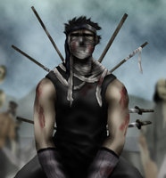 Death of Zabuza by Shibuz4