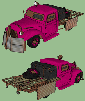 Elaie the Rat Truck by RustyHauser