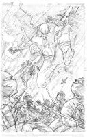 Iron Fist - pencils by thisismyboomstick