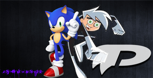 Sonic and Danny Phantom by SPINDASH77