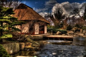 Japanese Teahouse by Chris-B-Photography