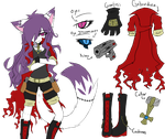 [REFERENCIA] _.Kary The Hybrid Cat._ by oOKaryTheCatOo