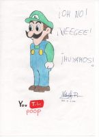 Weegee by Dino-drawer