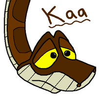 Kaa's Innocent face by charlotte199056